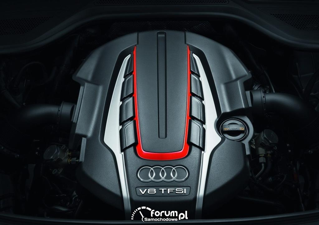 Audi S8, silnik V8 4.0 TFSI