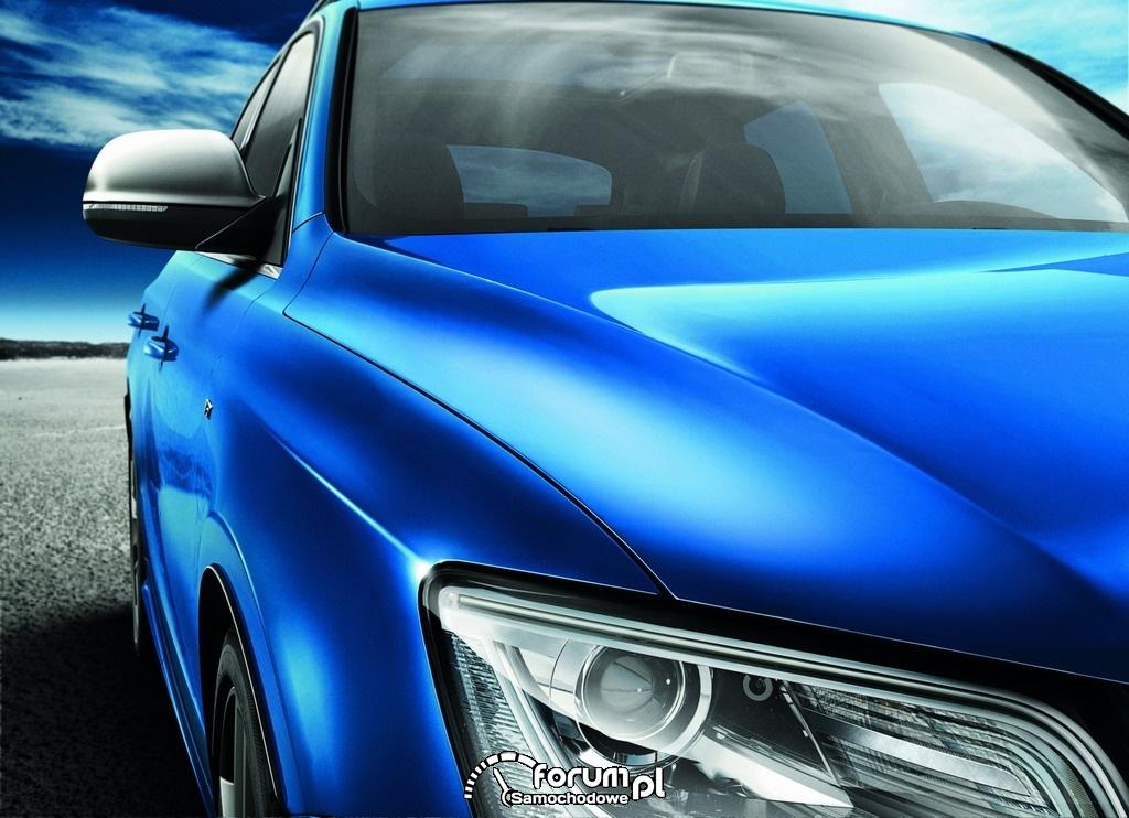 Audi SQ5 TDI, linia boczna