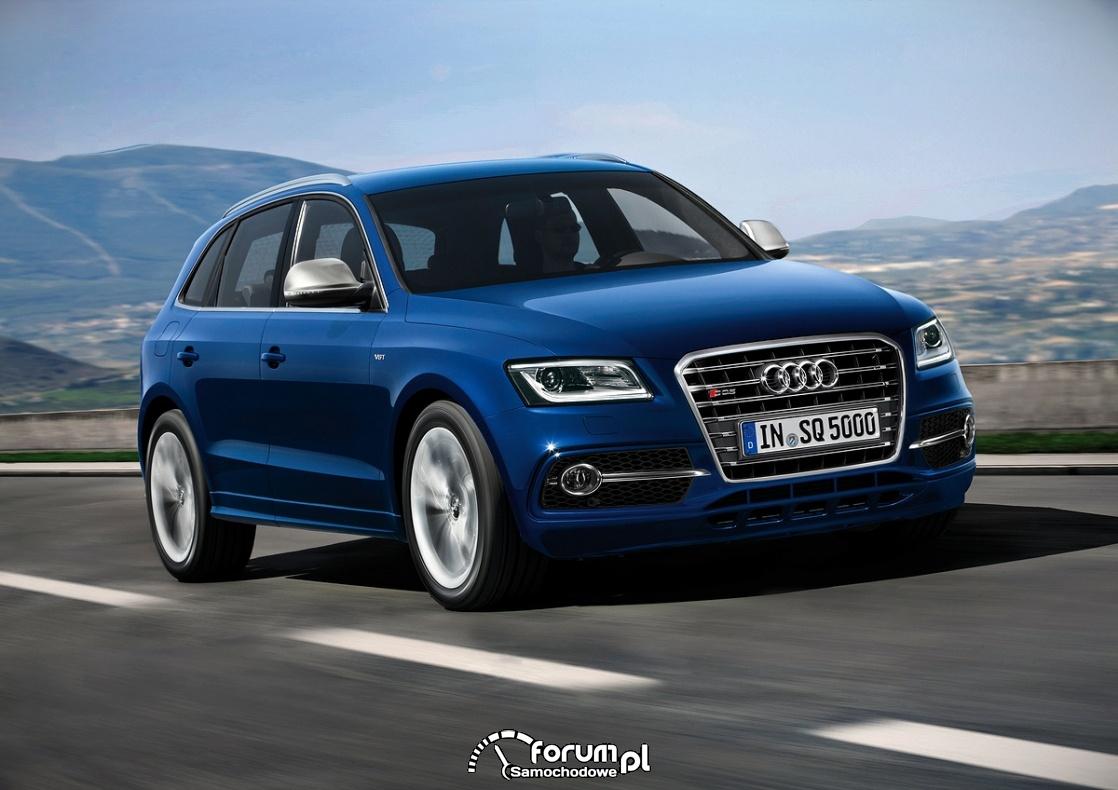 Audi SQ5 TDI, widok z przodu, 2013
