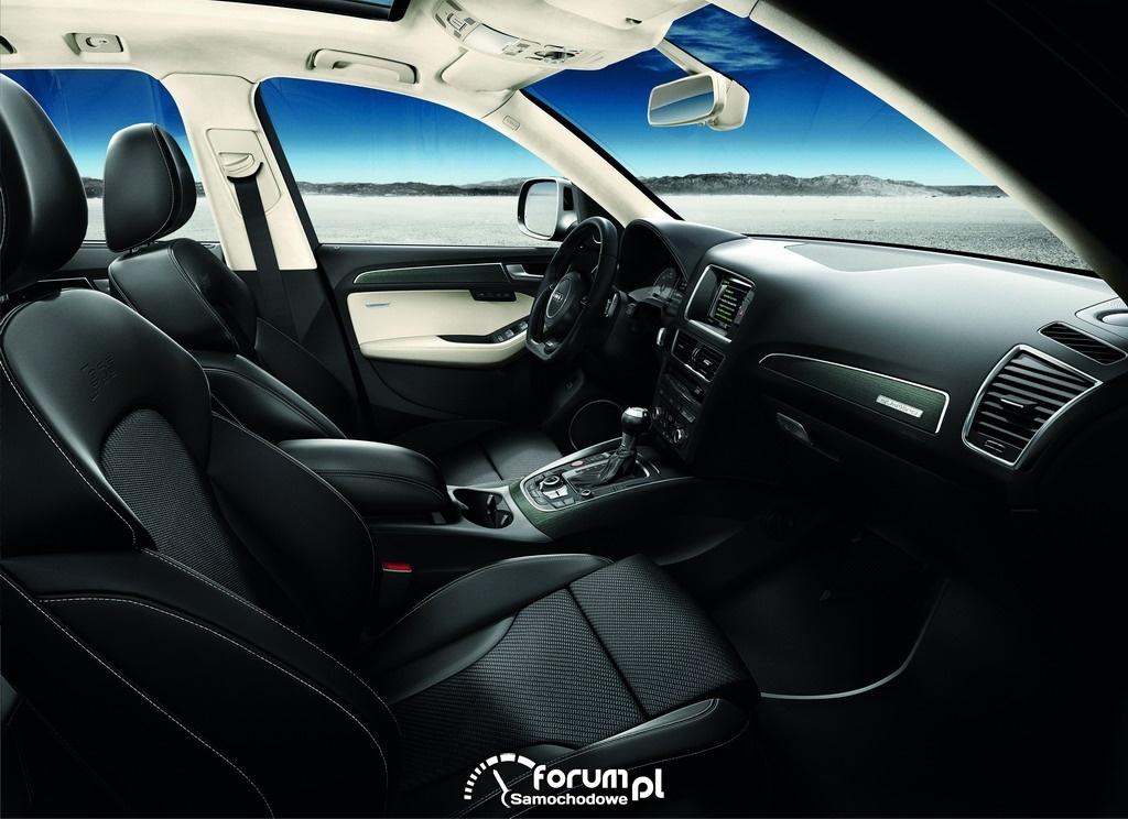 Audi SQ5 TDI, wnętrze