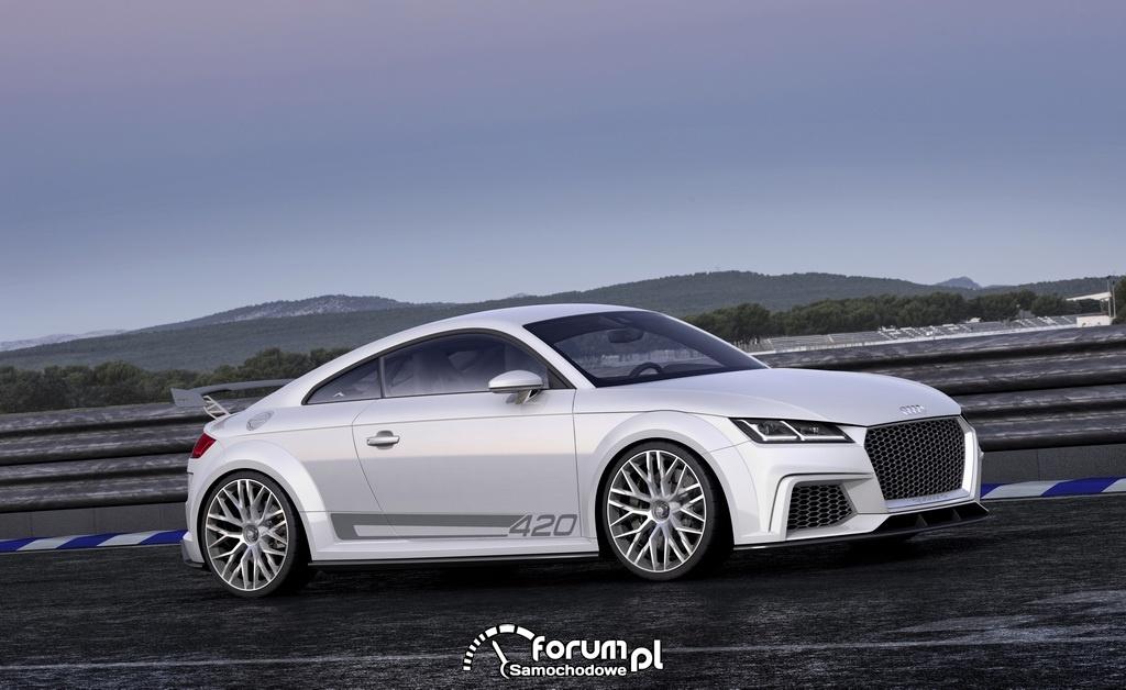 Audi TT quattro sport concept, bok