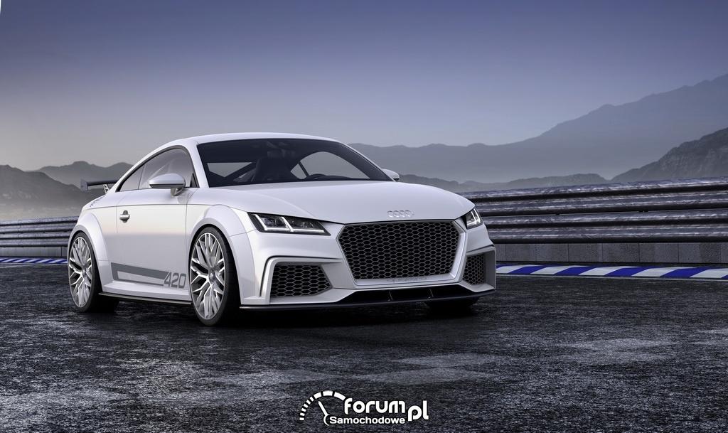 Audi TT quattro sport concept, przód