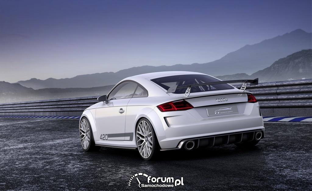 Audi TT quattro sport concept, tył