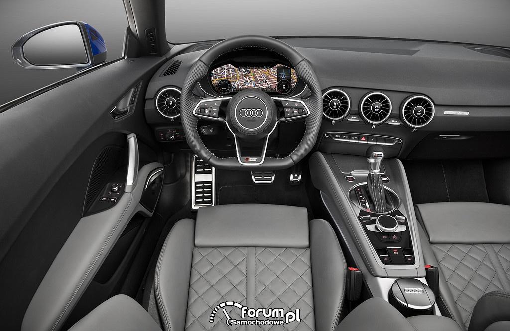 Sportowiec ze składanym dachem - nowy Roadster TT i TTS Audi