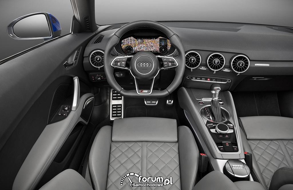 Audi TT Roadster, deska rozdzielcza, kokpit