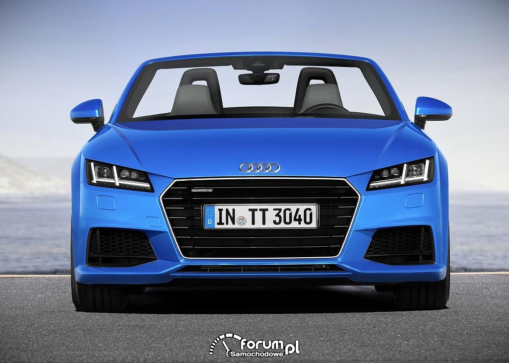 Mocne i wydajne silniki - Audi TT Roadster i TTS Roadster