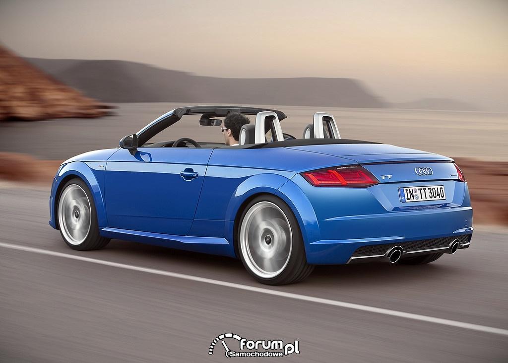 Audi TT Roadster, tył