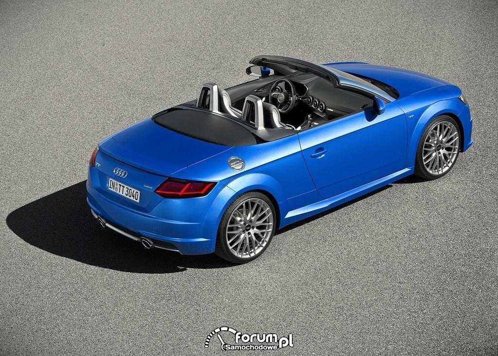 Audi TT Roadster, z góry
