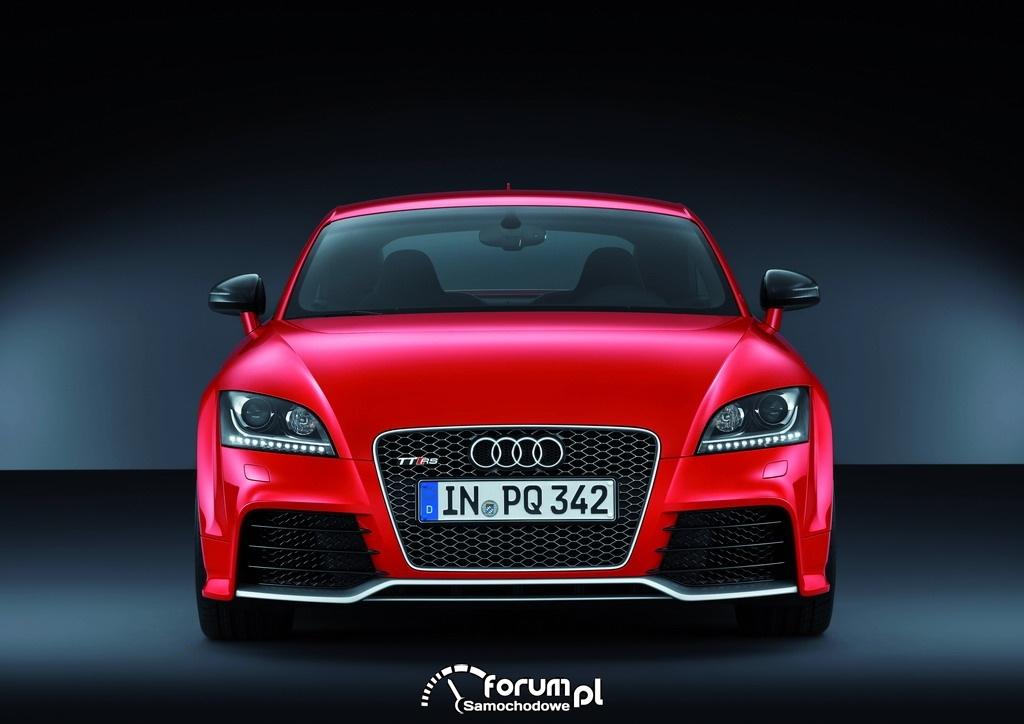 Audi TT RS plus - przód.