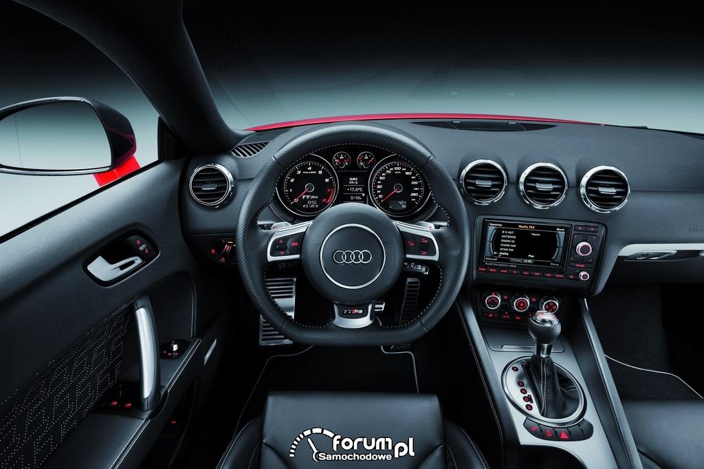 Audi TT RS plus - wnętrze