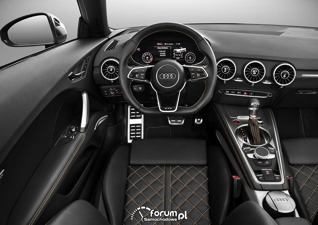 Audi TTS Roadster, deska rozdzielcza, kokpit