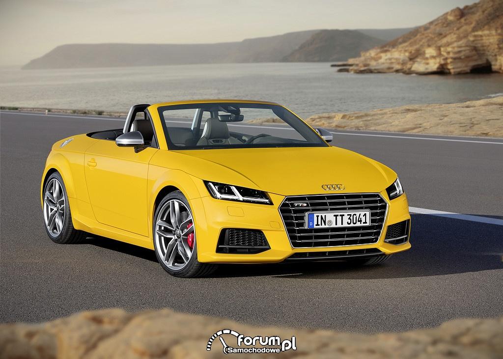 Sportowe i stabilne podwozie Audi TT Roadster i TTS Roadster
