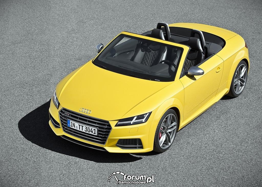 Audi TTS Roadster, z góry