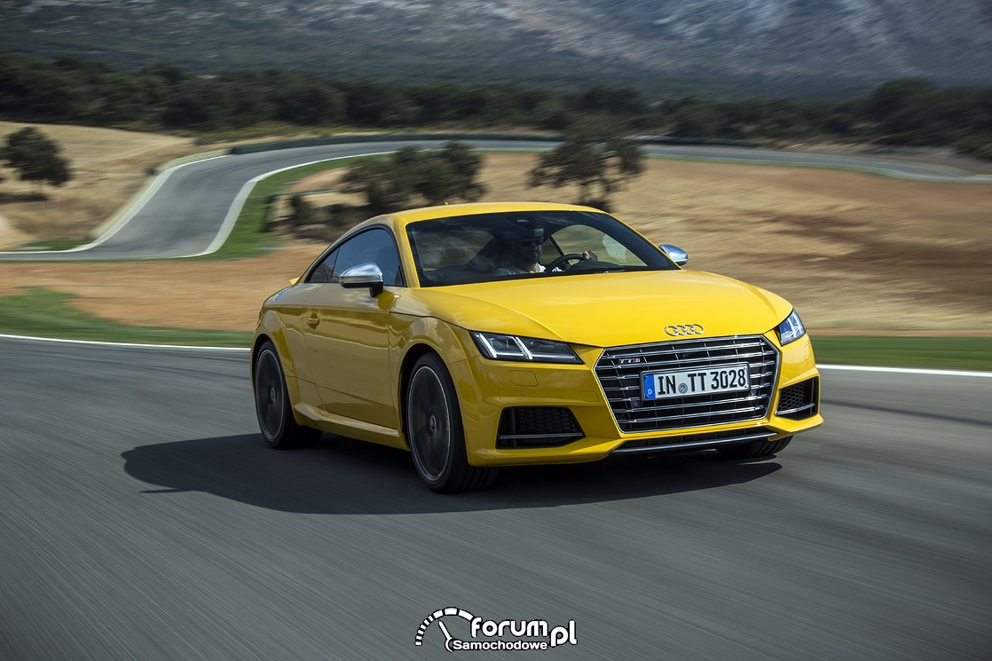 Audi TTS Samochodem Roku Playboya 2015