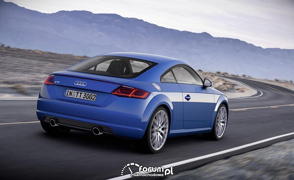 Audi TTS, tył