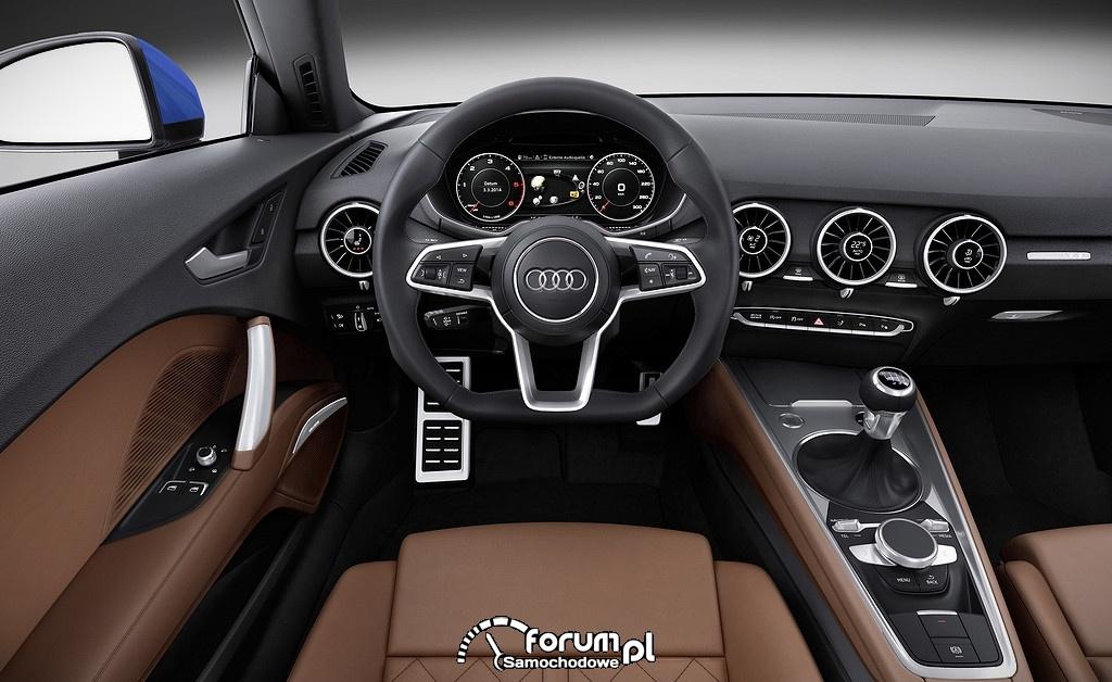 Audi TTS, wnętrze