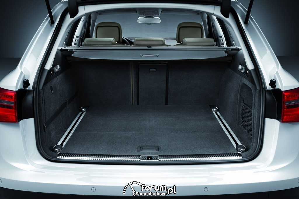 Bagażnik - Audi A6 allroad quattro - Avant 2012, 15