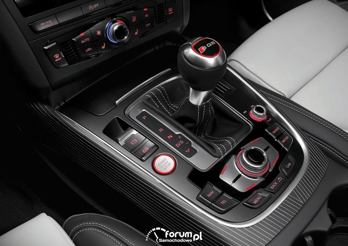 Dźwignia zmiany biegów, środkowa konsola, Audi SQ5 TDI