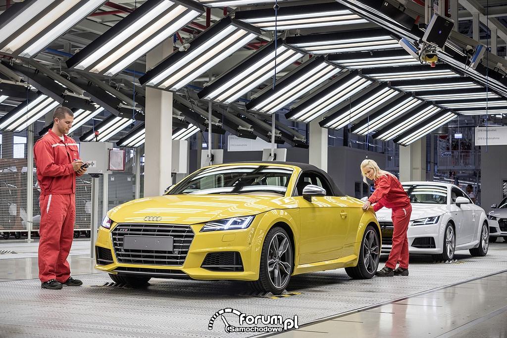 Audi TT Roadster - ruszyła produkcja na Węgrzech w Gyor