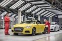 Linia pordukcyjna Audi TT Roadster w Gyor w fabryce Audi