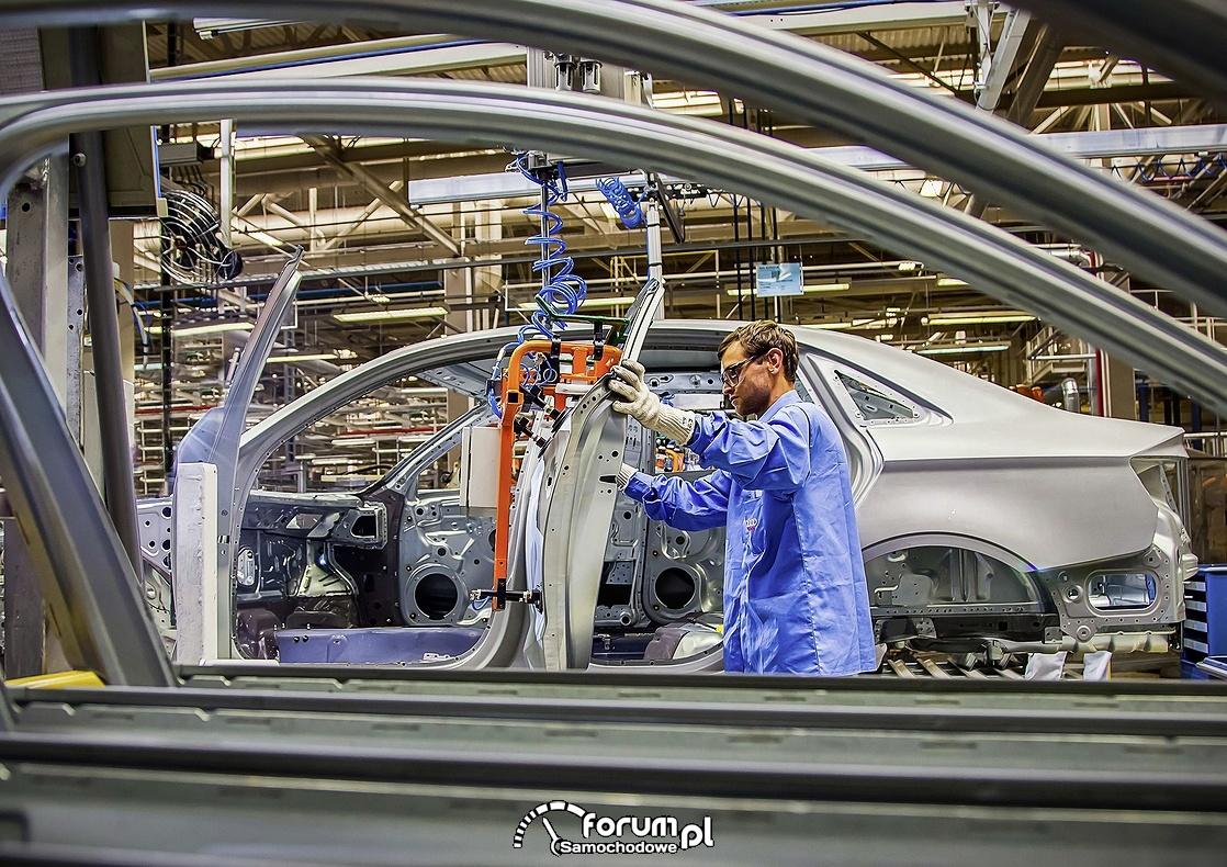 Linia produkcyjna Audi A3 Limousine 1.4 TFSI Flex