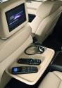 Monitor w zagłówku, sterowanie pilotem, Audi Q7