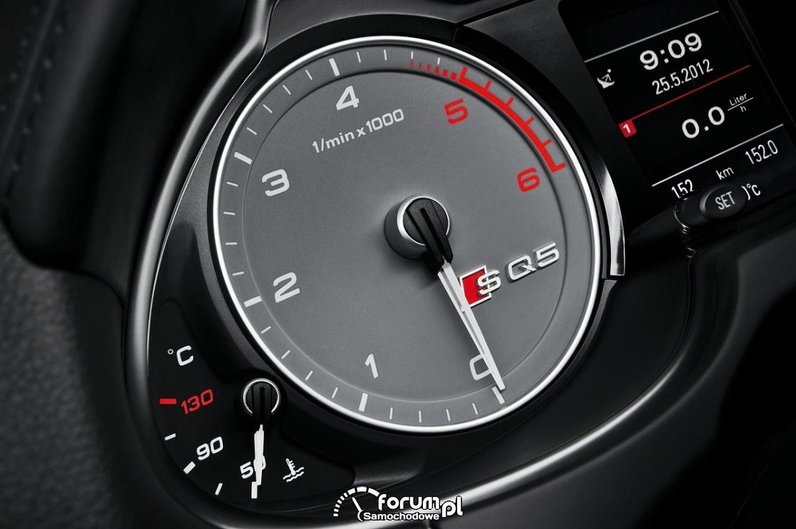 Obrotomierz, Audi SQ5 TDI