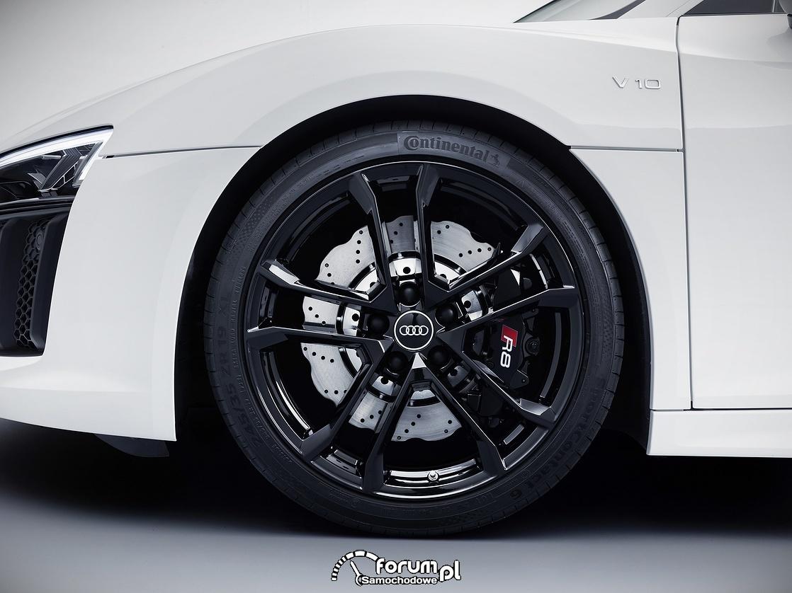 Pięcioramienne felgi aluminiowe, Audi R8 V10 RWS