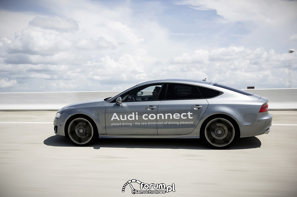 Piloted driving, Audi A7 Sportback