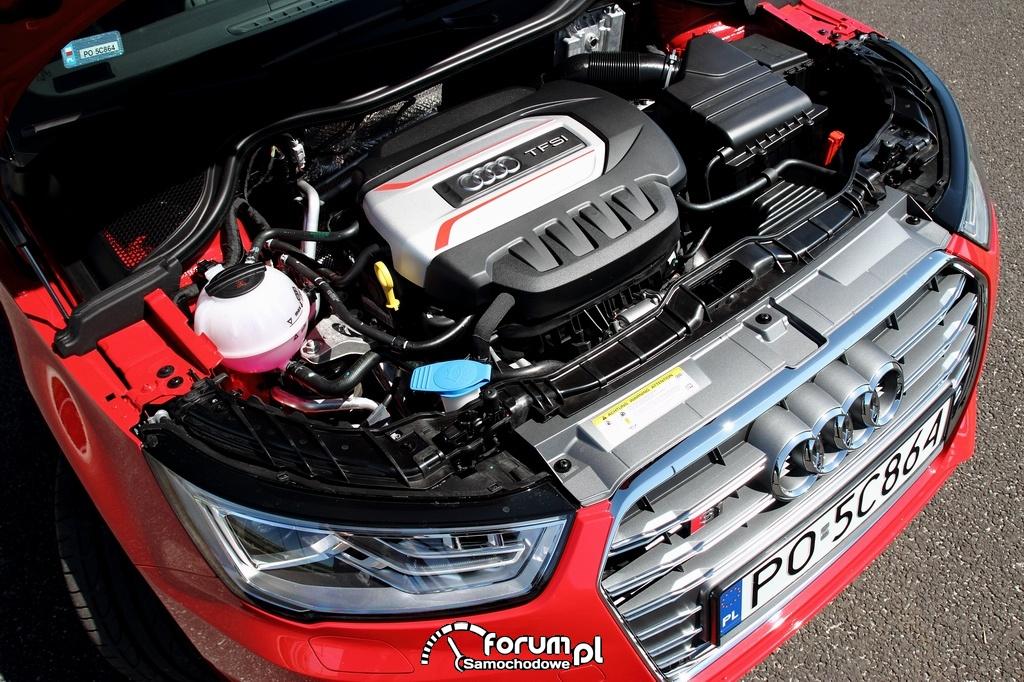 Silnik 2.0 TFSI o mocy 231 KM i momencie obrotowym 370 Nm