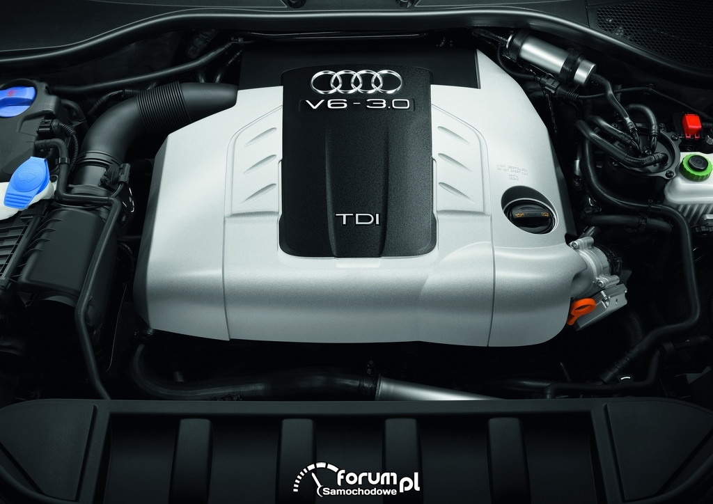 Silnik V6 3.0 TDI, Audi Q7