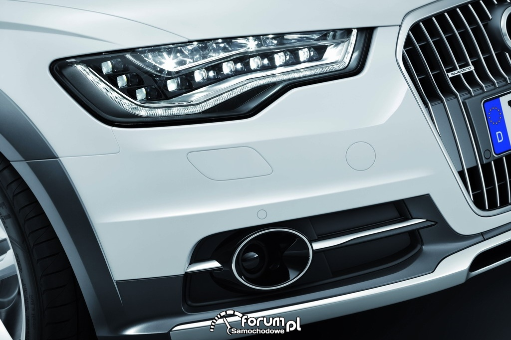 Światła - Audi A6 allroad quattro - Avant 2012, 19