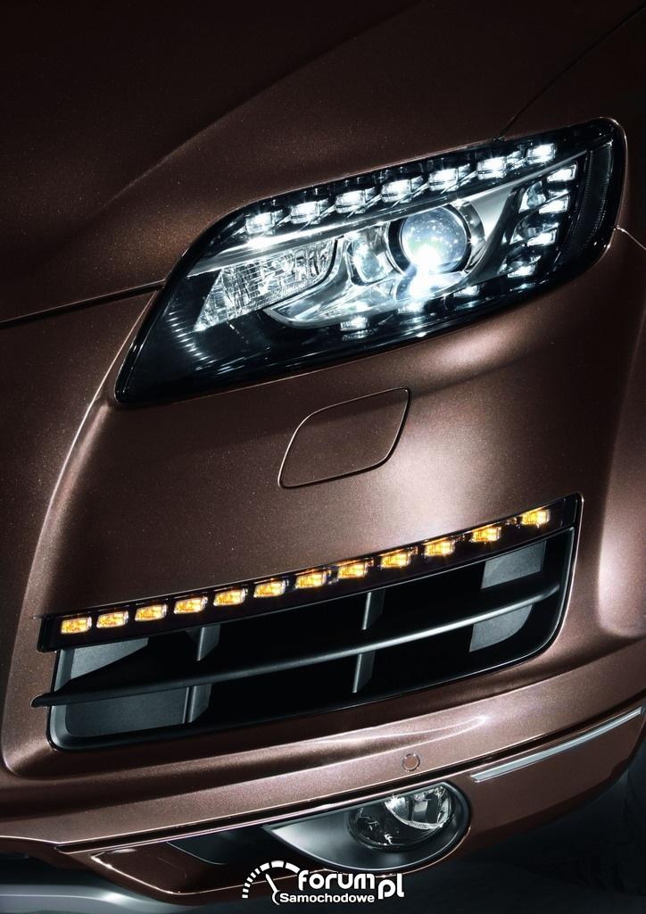 Światła LED, Audi Q7