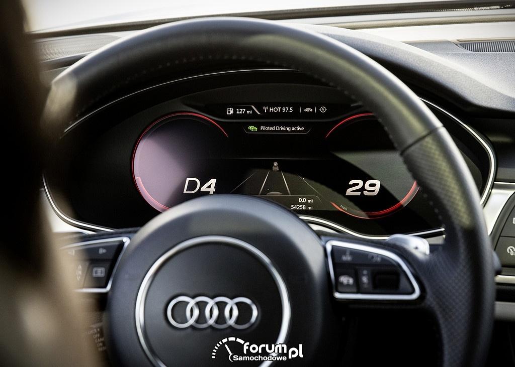 System wsparcia kierowcy - zFAS, Audi A7 Sportback