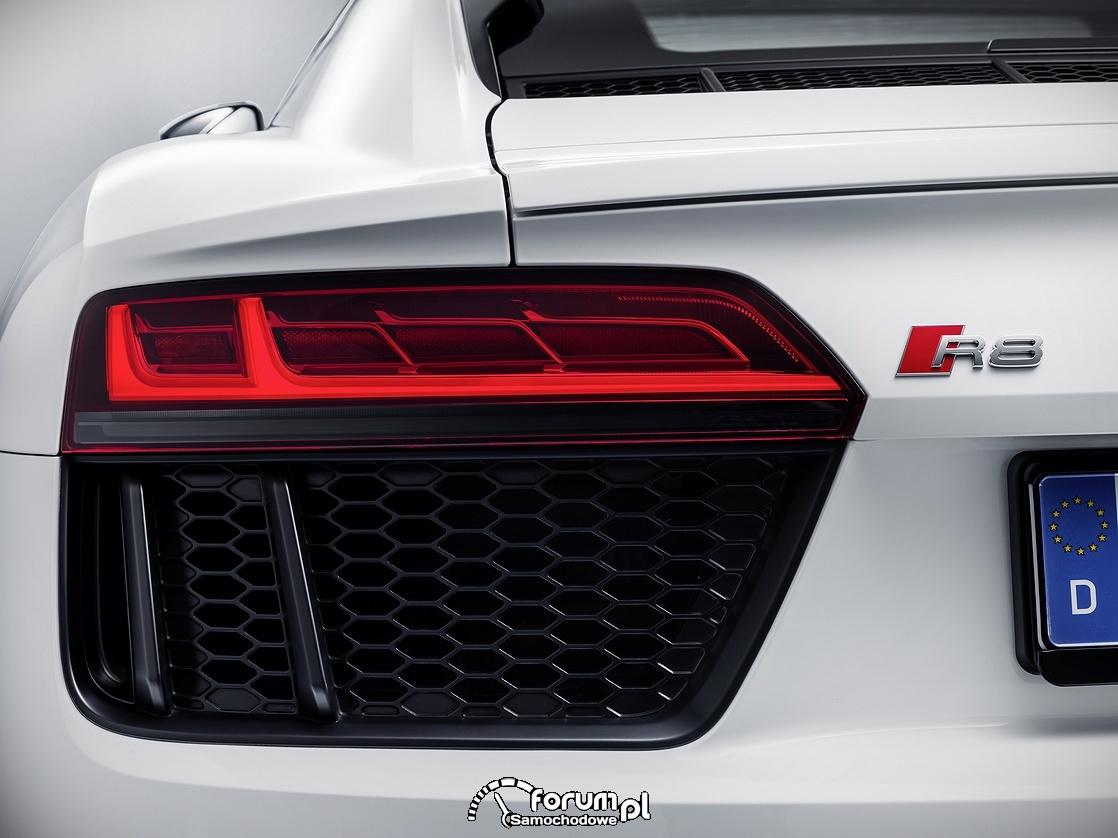 Tylne światła LED, Audi R8 V10 RWS