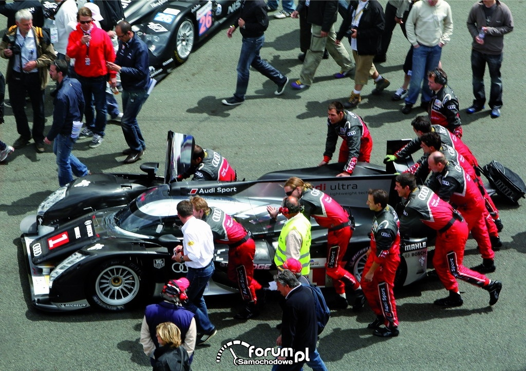 Ultralekka konstrukcja Audi wygrywa w Le Mans, 3