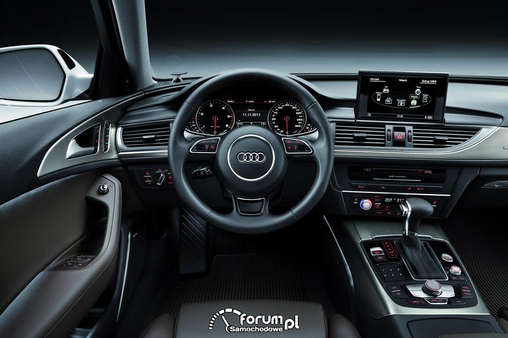 Wnętrze - Audi A6 allroad quattro - Avant 2012, 17