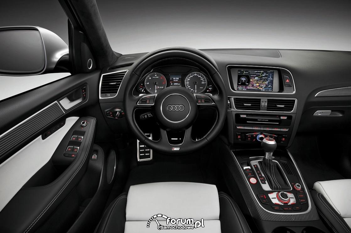 Wnętrze, Audi SQ5 TDI