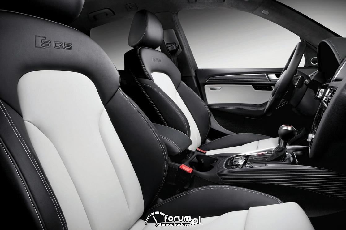 Wnętrze, fotele z trzymaniem bocznym, Audi SQ5 TDI