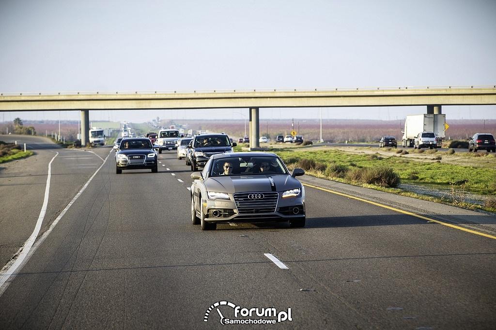 Wyprzedzanie na autostradzie, Audi A7 piloted driving concept
