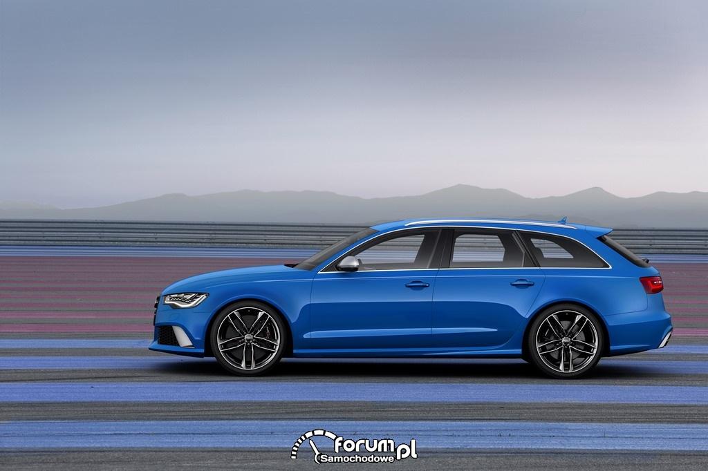 Audi RS 6 Avant, bok