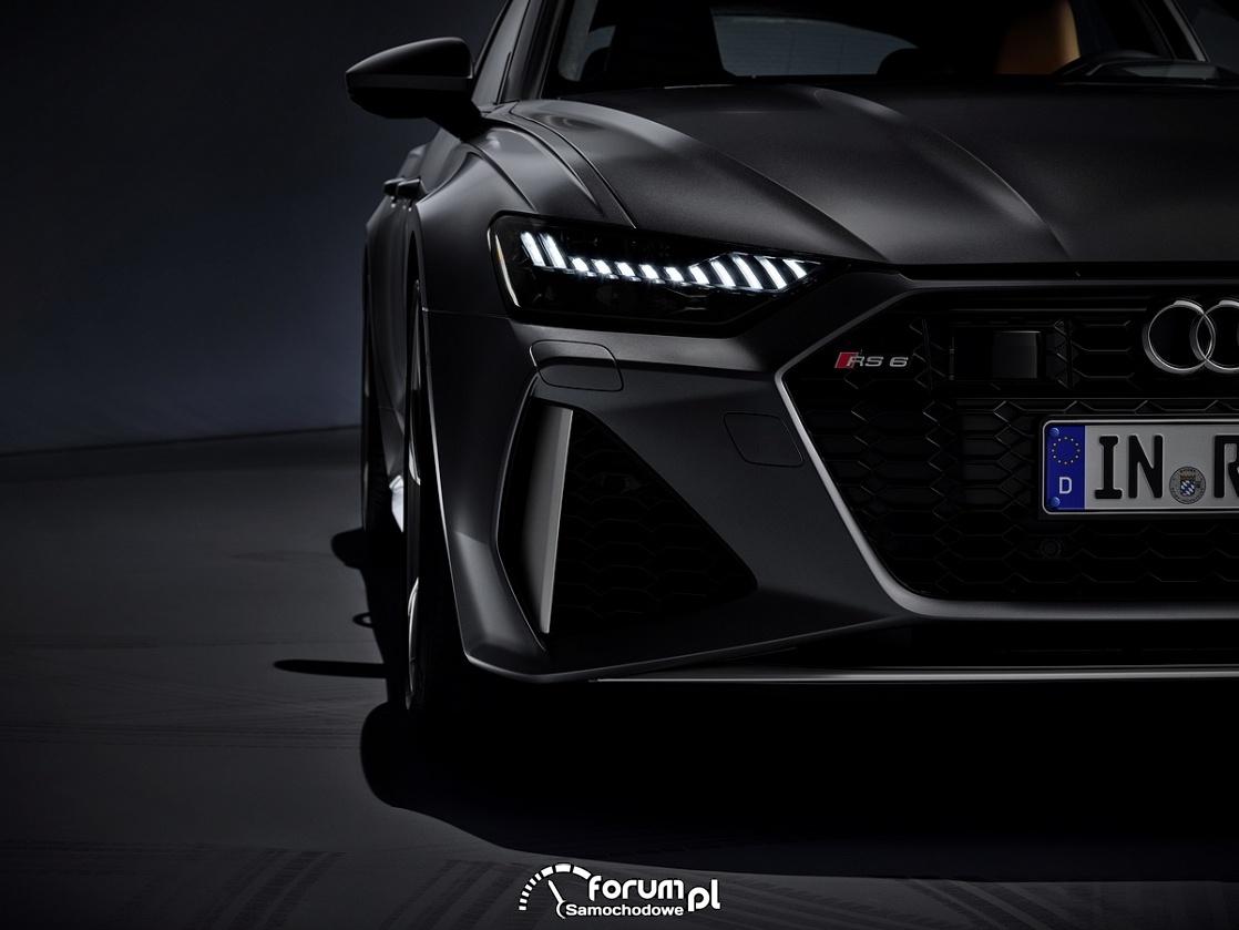 Audi RS 6 Avant, przednie światła LED