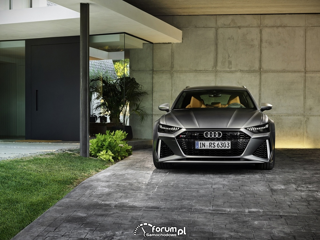 Audi RS 6 Avant, przód