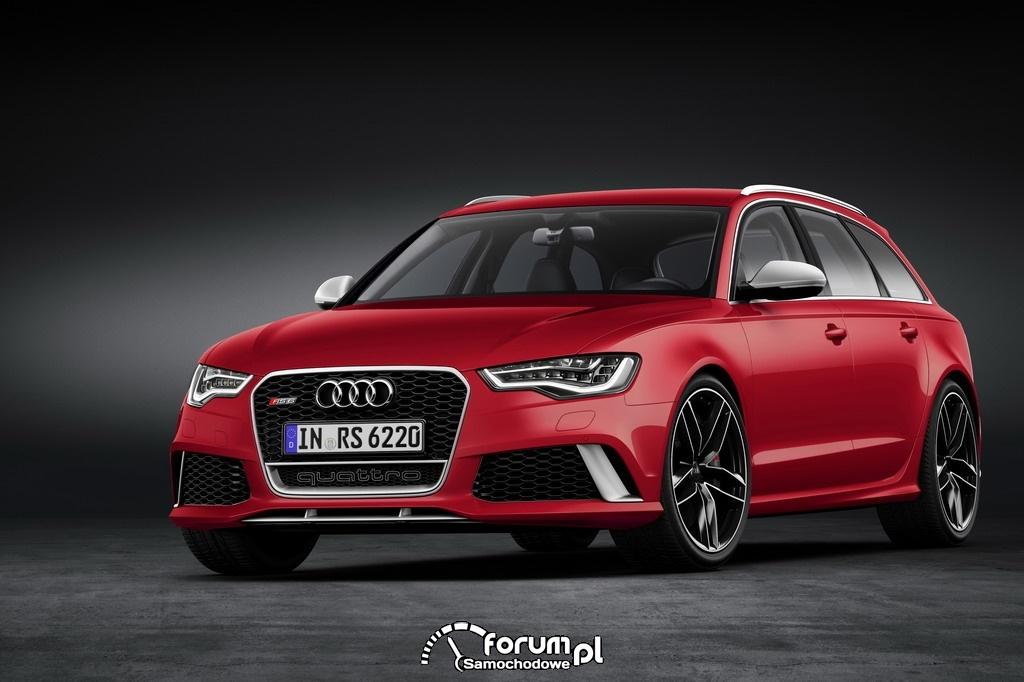 Audi RS 6 Avant quattro, 2013