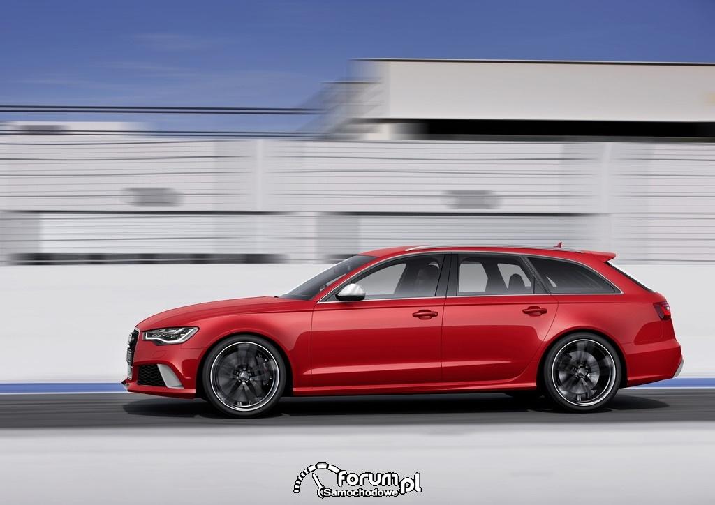 Audi RS 6 Avant quattro, bok, 2, 2013