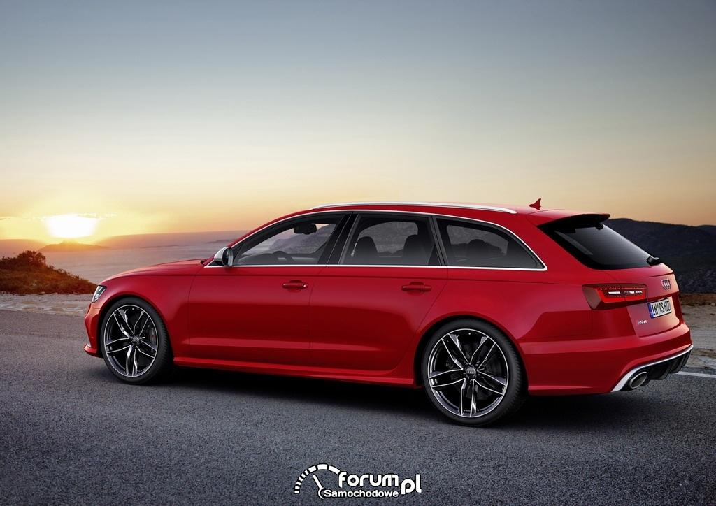 Audi RS 6 Avant quattro, bok, 2013