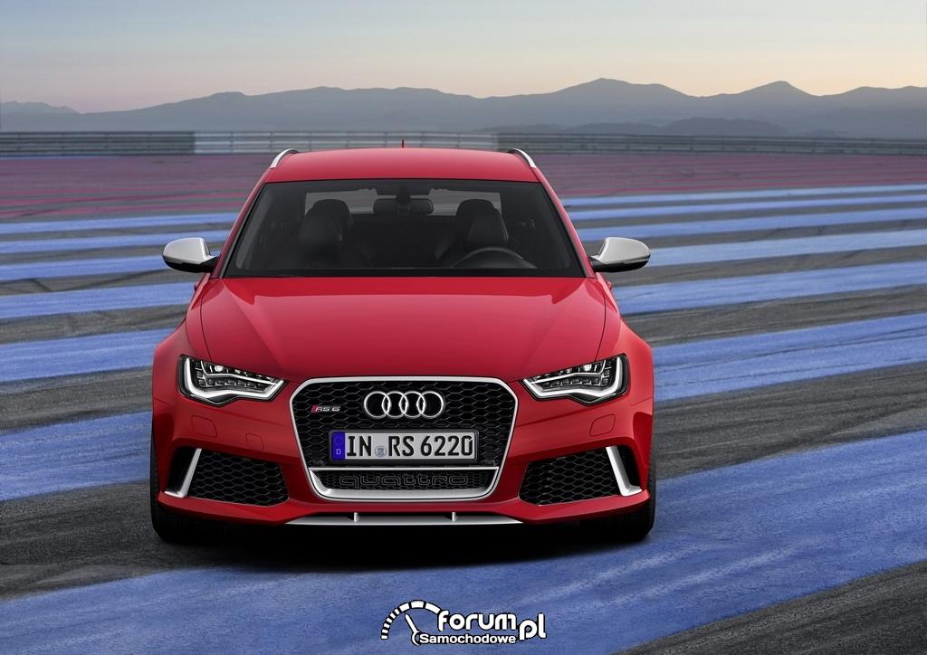 Audi RS 6 Avant quattro, przód, 2013