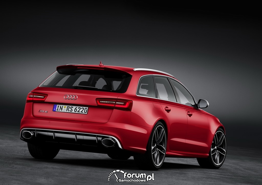 Audi RS 6 Avant quattro, tył, 2, 2013