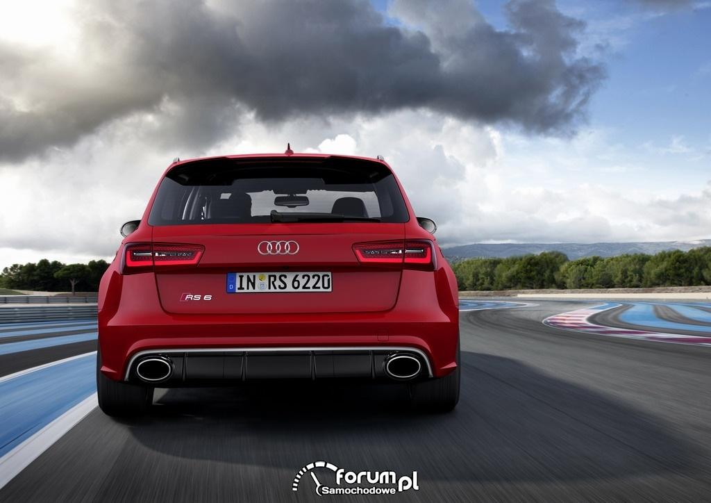 Audi RS 6 Avant quattro, tył, 2013