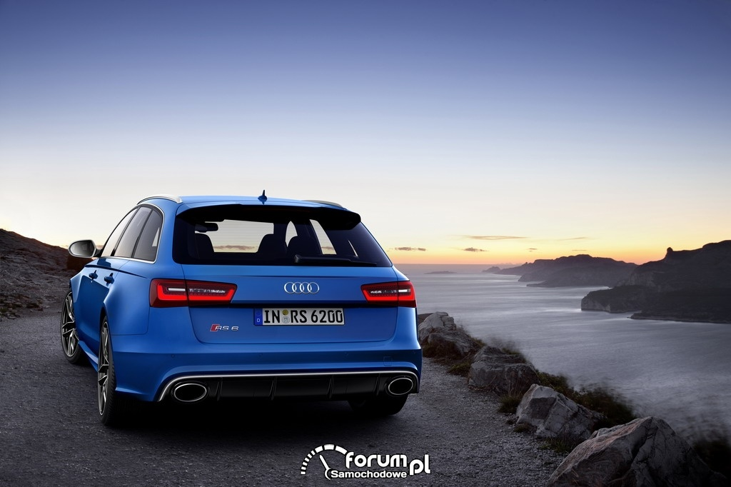 Audi RS 6 Avant, tył